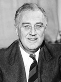 President Franklin Roosevelt on His 56th Birthday  Jan 29  1938