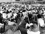 Hippie Youths at the 'Celebration of Life' Rock Festival