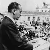 Guatemalan President Jacobo Arbenz Guzman in 1954