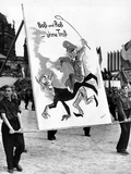 Communist Youth Organizations Put on a 'Peace' Parade