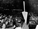 President Richard Nixon's Limousine Was a Target of Anti-War Protesters