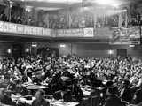 General View of the Communist National Convention at the Metropolitan Opera House