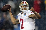 San Francisco 49ers and New England Patriots NFL: Colin Kaepernick