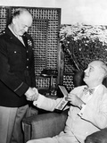President Franklin Roosevelt Presents Legion of Merit to General Eisenhower