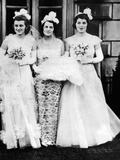 Kathleen  Rose  and Rosemary Kennedy  await their Presentation at Buckingham Palace  May 11  1938
