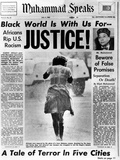 Black Muslim Newspaper  'Muhammad Speaks'  Emphasizes African Americans Abuse  Jul 5  1963