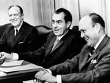 President Richard Nixon with Members of the National Security Council