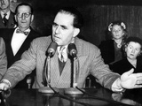 Anthony Anastasia Testifies before Senate Crime Investigating Committee on March 19  1951