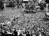 Pres Kennedy Tells Crowd at West Berlin City Hall  'Ich Bin Ein Berliner ' Jun 26  1963
