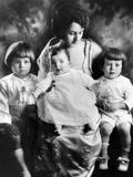 Rose Kennedy with Her Three Eldest Children