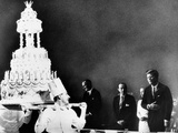 Huge Birthday Cake for President John Kennedy