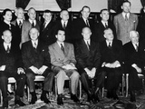 President-Elect Dwight Eisenhower Poses with His Cabinet