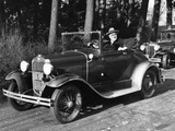President-Elect Franklin Roosevelt Driving at Hyde Park  NY