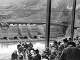 President Franklin Roosevelt Inspects Grand Coulee Dam