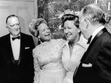 FBI Director J Edgar Hoover Attended a Dinner Honoring Mrs Martha Mitchell
