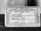 1968 Social Security Card