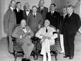 Allies of the Pacific War Council Met at the White House on June 25  1942