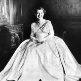 Maine Eisenhower Models the Gown She Will Wear to the Inaugural Ball