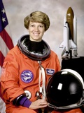 Space Shuttle Commander Eileen Collins  First Woman to Command Space Shuttle Mission  Oct 30  1998