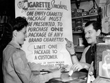 Solution for the Wartime Cigarette Shortage