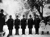 Quentin Roosevelt and Archie Roosevelt Join the White House Police for Inspection