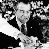 President Richard Nixon at a Chinese Banquet