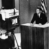 John F Kennedy at the Kennedy-Nixon Debates  Sep 26  1960