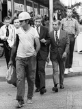 Miami Meyer Lansky  Reputed Underworld Financial Operator  Walks Along Miami Street  Feb 26  1973