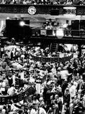 Trading Floor of the New York Stock Exchange on August 16  1971