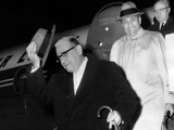 Chicago Police Lt Anthony Degrazio Deplanes with Tory Accardo  Leader of Chicago Crime Syndicate