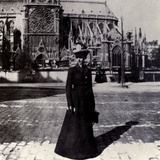 Julia Morgan  Noted Female Architect  in Paris  ca 1900