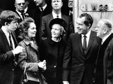 President-Elect Richard Nixon and His Family with Dr Norman Vincent Peale