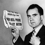 Senator Richard Nixon Calls for Continuing Huac's Alger Hiss Investigation