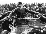 Adolph Hitler  Like Most Politicians  Makes Contact with His Admiring Public  ca 1935