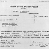 Subpoena for Pres Nixon to Appear in Court to Testify for Defendant John D Ehrlichman  Aug 14  1974
