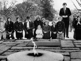 Ethel Kennedy  Her Children and Sen Edward Kennedy's Family at Pres John Kennedy Grave