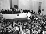 President Franklin Roosevelt Dedicated the New National Gallery of Art on March 17  1941