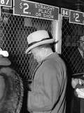 J Edgar Hoover Placing a Bet at the Two Dollar Window
