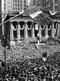 The New York Stock Exchange Celebrates 150th Anniversary with the Greatest War Bond Rally