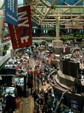 Trading Floor of the New York Stock Exchange  New York City  ca 2000