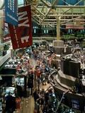 Trading Floor of the New York Stock Exchange  New York City  ca 2000