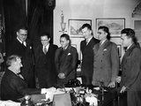 President Franklin Roosevelt Met with the Victorious University of Puerto Rico Debating Team