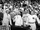President Franklin Tossed Out the Ball Starting the All-Star Game in Griffith Stadium  Washington
