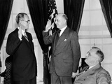 Joseph P Kennedy Takes the Oath as US Ambassador