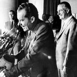 Richard Nixon with His Vice Presidential Pick  Spiro Agnew