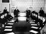 Pres Franklin Roosevelt and Sec of State Cordell Hull Addressed Board of Govs of Pan American Union