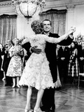President Richard Nixon Dances with the First Lady at Tricia's Wedding Reception