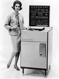 The First Public Use Photocopy Vending Machine