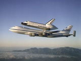 Space Shuttle Atlantis on Custom 747 Flies to Kennedy Space Center after Refurbishment  Sep 1  1998