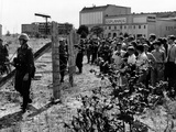 First Days of the Berlin Wall
